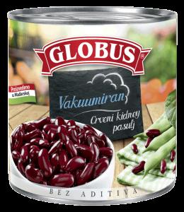 crveni pasulj u konzervi Globus