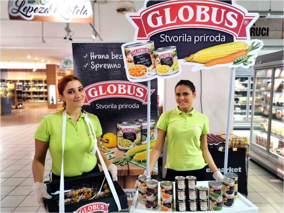 globus promocija proizvoda