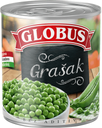 grašak u konzervi Globus
