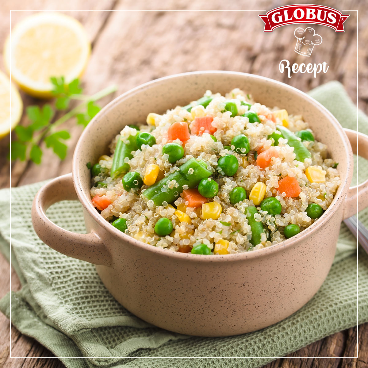 Zdrava i brza salata od žitarica i povrća