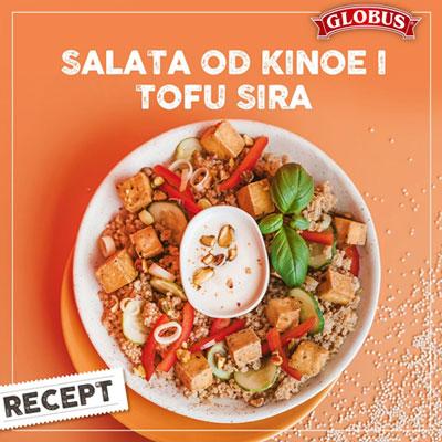 salata od kinoe i tofu sira
