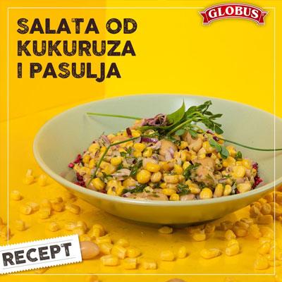 salata od pasulja i kukuruza