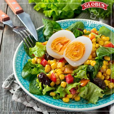 salata sa kukuruzom i maslinama